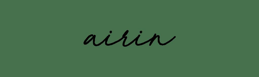 airin graphic design logo